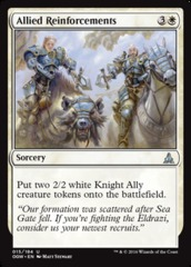 Allied Reinforcements - Foil