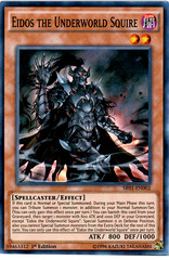 Eidos the Underworld Squire - SR01-EN002 - Super Rare - 1st Edition on Channel Fireball