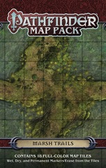 Pathfinder Map Pack: Marsh Trails