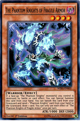 The Phantom Knights of Fragile Armor - WIRA-EN005 - Super Rare - 1st Edition
