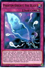 Phantom Knights' Fog Blade - WIRA-EN009 - Ultra Rare - 1st Edition on Channel Fireball