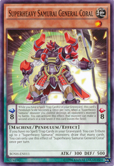 Superheavy Samurai General Coral - BOSH-EN011 - Common - Unlimited Edition
