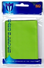 Alpha Gloss Sleeves - 50 count  - Lime Green
