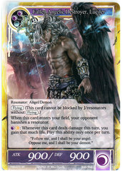 Fallen Angelic Destroyer, Lucifer - TMS-075 - SR - Foil