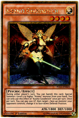 Kozmo Goodwitch - PGL3-EN025 - Gold Secret Rare - 1st Edition