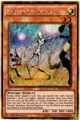 Kozmo Strawman - PGL3-EN028 - Gold Secret Rare - 1st Edition