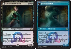 Elusive Tormentor // Insidious Mist (Shadows Over Innistrad Buy-a-Box Promo) on Channel Fireball