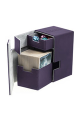 Ultimate Guard FLIP'n'TRAY DECK CASE 100+ - Purple