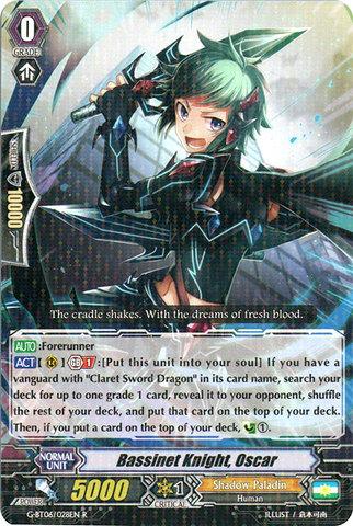 Bassinet Knight, Oscar - G-BT06/028EN - R