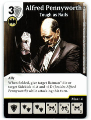 Alfred Pennyworth - Tough as Nails (Die & Card Combo)