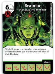 Brainiac - Manipulative Schemer (Die & Card Combo)