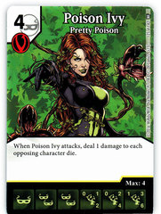 Poison Ivy - Pretty Poison (Die & Card Combo)