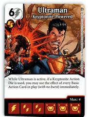Ultraman - Kryptonite Powered (Die & Card Combo)