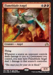 Flameblade Angel - Intro Pack Promo