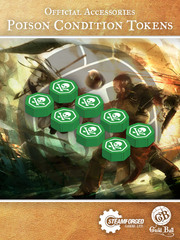 Guild Ball Poison Condition Tokens