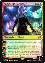 Nahiri, the Harbinger - Prerelease Promo
