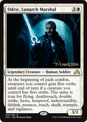 Odric, Lunarch Marshal - Foil - Prerelease Promo