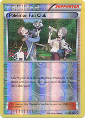 Pokemon Fan Club - 107/124 - Uncommon - Reverse Holo