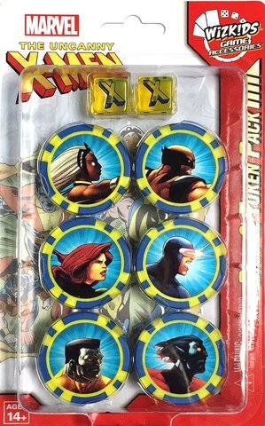 The Uncanny X-Men Dice & Token Pack