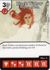 Black Widow - Mistress of Pain (Die & Card Combo)