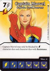 Captain Marvel - Captain Carol Danvers (Card Only)