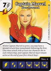 Captain Marvel - Kree-Powered (Card Only)