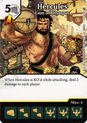 Hercules - Lion of Olympus (Card Only)
