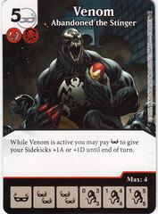 Venom - Abandoned the Stinger (Die & Card Combo)