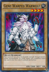 Gene-Warped Warwolf - YS16-EN016 - Common - 1st Edition