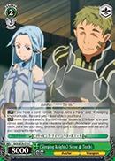 SAO/SE26-E19 C Sleeping Knights Siune & Tecchi