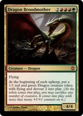 Dragon Broodmother on Channel Fireball