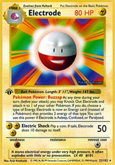 Electrode - 21/102 - Rare - 1st Edition