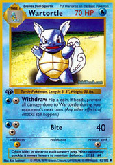 Wartortle - 42/102 - Uncommon - 1st Edition