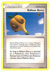 Balloon Berry - 84/107 - Uncommon