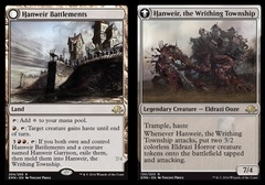 Hanweir Battlements // Hanweir, the Writhing Township