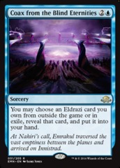 Coax from the Blind Eternities - Foil on Channel Fireball