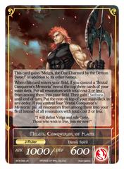 Memoria of the Seven Lands // Melgis, Conqueror of Flame - BFA-092 - R - Foil