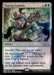 Flaying Tendrils - Foil - FNM Promo