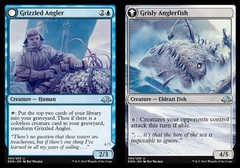 Grizzled Angler // Grisly Anglerfish - Foil