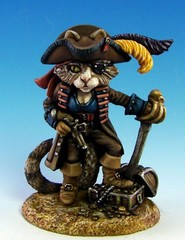 Ali Sparrow - Female Cat Pirate