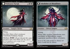 Voldaren Pariah // Abolisher of Bloodlines - Foil