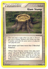 Giant Stump - 75/92 - Uncommon