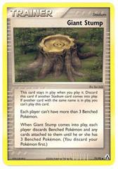Giant Stump - 75/92 - Uncommon