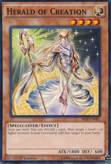Herald of Creation - SR02-EN007 - Common - 1st Edition