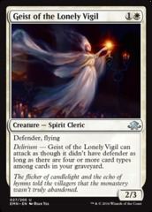 Geist of the Lonely Vigil - Foil
