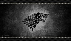 A Game of Thrones LCG - House Stark Playmat