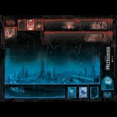 Fantasy Flight - Android Netrunner - System Breach Two-Player Playmat