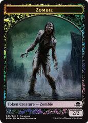 Zombie Token - Foil - Prerelease Promo