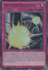 Induced Explosion - MVP1-EN009 - Ultra Rare - 1st Edition