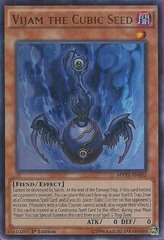 Vijam the Cubic Seed - MVP1-EN032 - Ultra Rare - 1st Edition